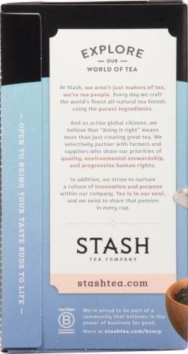 Stash Decaf Earl Grey Black Tea Perspective: left