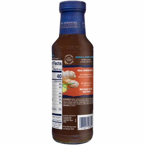 Litehouse Sesame Ginger Dressing & Marinade Perspective: left