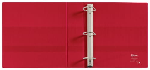 Avery Clear Cover Heavy Duty 3-Ring Binder – Assorted Perspective: left