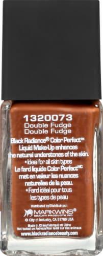Black Radiance Color Perfect Double Fudge Liquid Make-Up Perspective: left