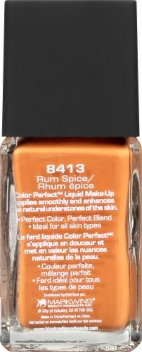 Black Radiance Color Perfect Rum Spice Liquid Foundation Perspective: left