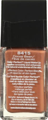 Black Radiance Color Perfect Liquid Foundation - Cocoa Bean Perspective: left