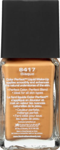 Black Radiance Color Perfect Bisque Liquid Makeup Foundation Perspective: left
