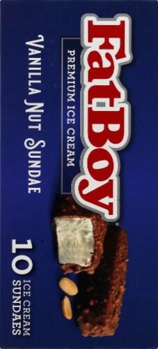 Fat Boy Nut Sundae Ice Cream Bars Perspective: left