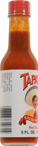 Tapatio Hot Sauce Perspective: left