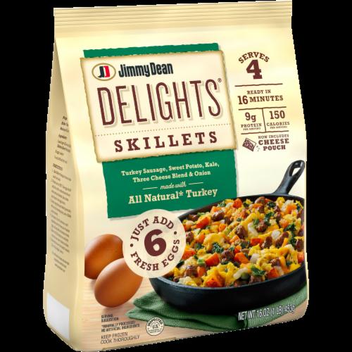 Jimmy Dean Delights Turkey Sweet Potato Kale & Cheese Skillet Frozen Meal Perspective: left
