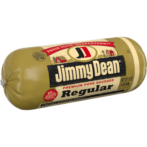 Jimmy Dean® Regular Premium Pork Sausage Roll Perspective: left