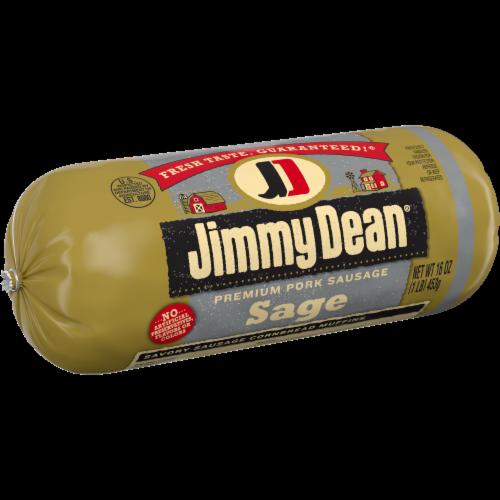 Jimmy Dean Premium Pork Sage Sausage Roll Perspective: left