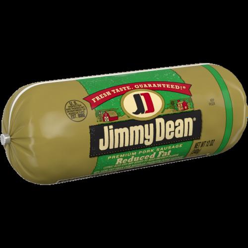 Jimmy Dean Reduced Fat Premium Pork Sausage Roll Perspective: left