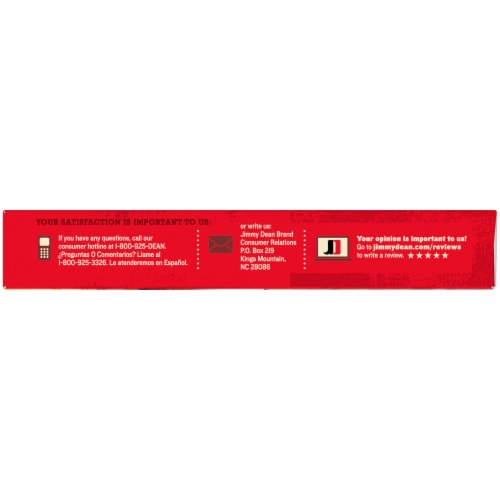 Jimmy Dean® Fully Cooked Turkey Sausage Links Perspective: left