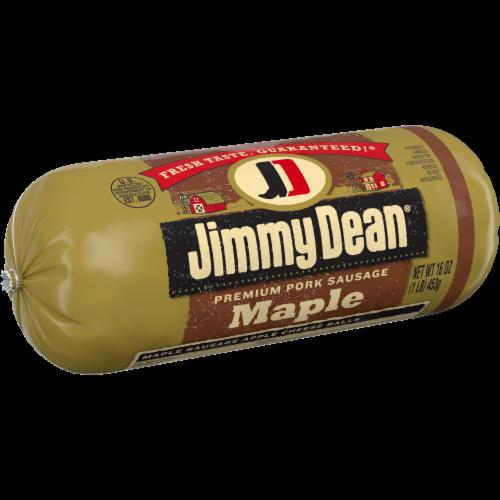Jimmy Dean Premium Pork Maple Sausage Roll Perspective: left