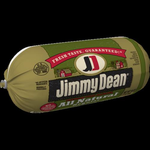 Jimmy Dean® All Natural Premium Pork Sausage Roll Perspective: left