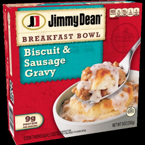Jimmy Dean Biscuit & Sausage Gravy Breakfast Bowl Perspective: left