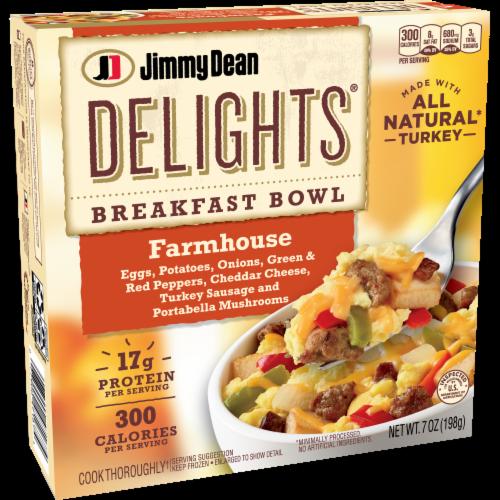 Jimmy Dean Delights Farmhouse Breakfast Bowl Perspective: left