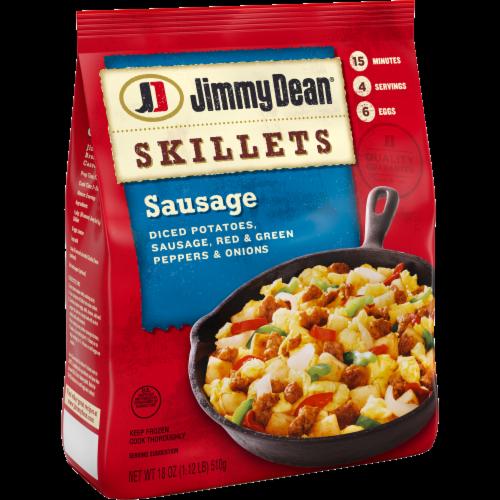 Jimmy Dean Sausage Breakfast Skillet Perspective: left