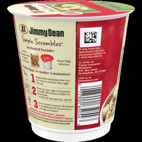Jimmy Dean Simple Scrambles Turkey Sausage Breakfast Cup Perspective: left