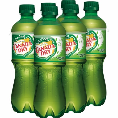 Canada Dry® Ginger Ale Soda Perspective: left