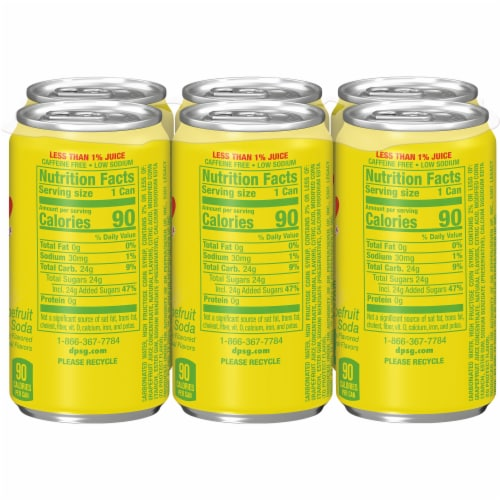 Squirt Naturally Flavored Citrus Soda Perspective: left