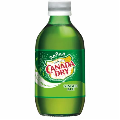 Canada Dry Ginger Ale Soda Perspective: left