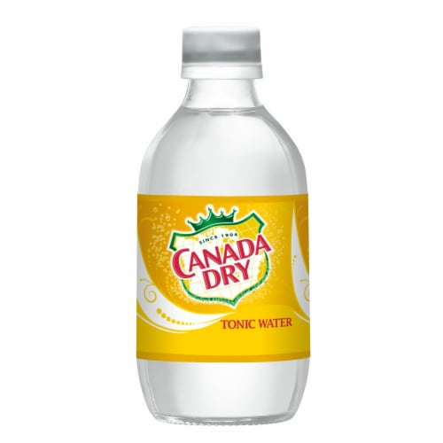 Canada Dry Tonic Water Perspective: left