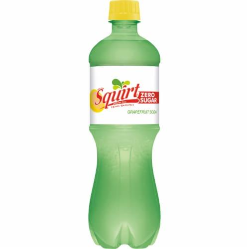 Squirt Zero Sugar Grapefruit Soda Perspective: left