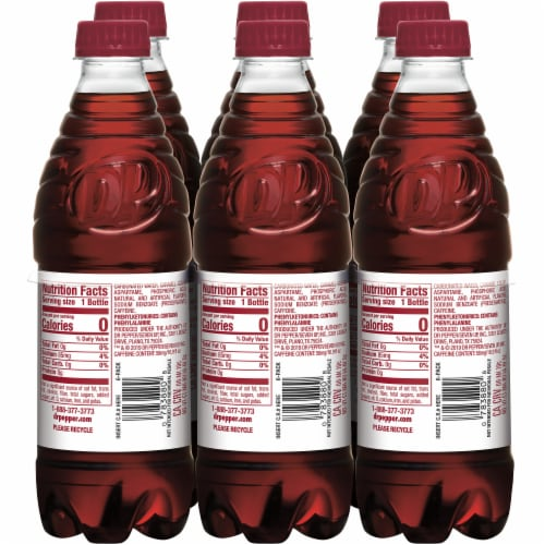 Diet Dr Pepper Soda Perspective: left