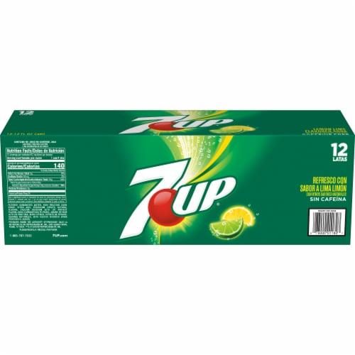 7UP Lemon-Lime Soda Perspective: left