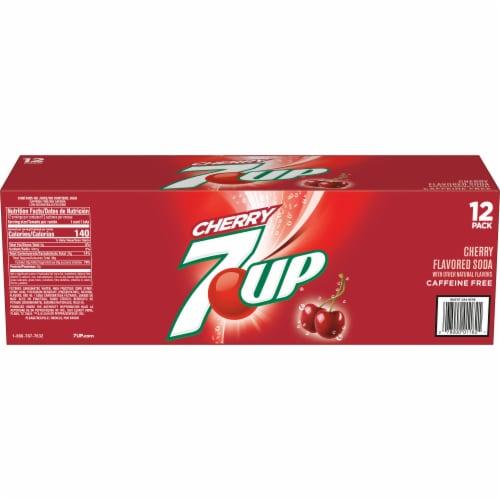 7UP Cherry Soda Perspective: left