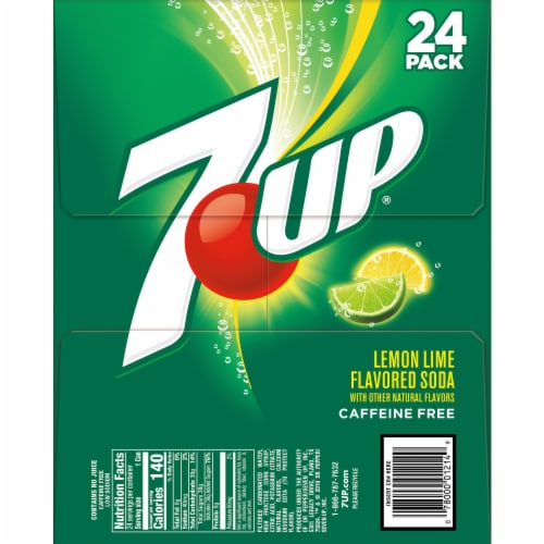 7UP 24 Pack Perspective: left