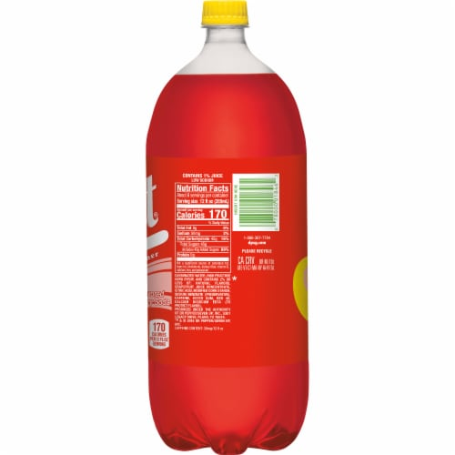 Squirt Ruby Red Soda Perspective: left