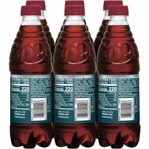 Dr Pepper Cherry Soda Perspective: left