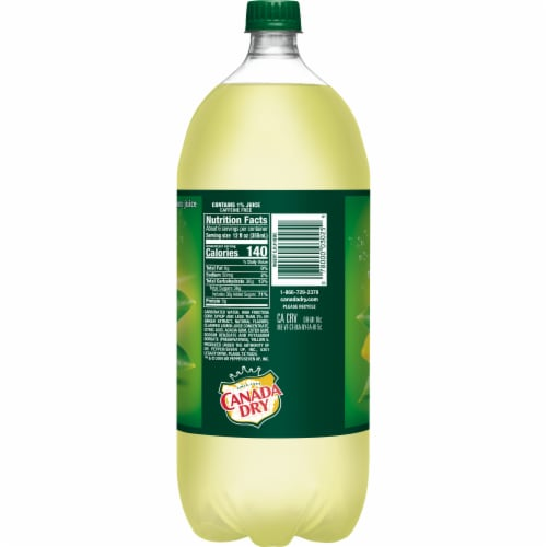 Canada Dry® Ginger Ale and Lemonade Perspective: left
