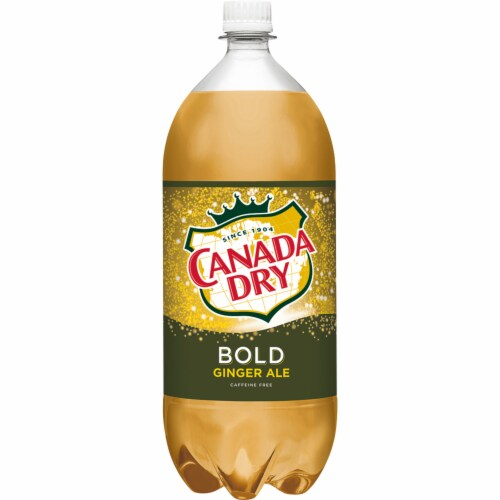 Canada Dry Ginger Ale Perspective: left