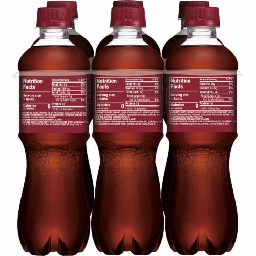 Dr Pepper Zero Sugar Soda Perspective: left