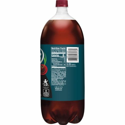 Dr Pepper Zero Sugar Cherry Soda Perspective: left