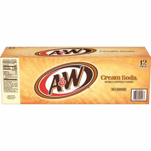 A&W Cream Soda Perspective: left
