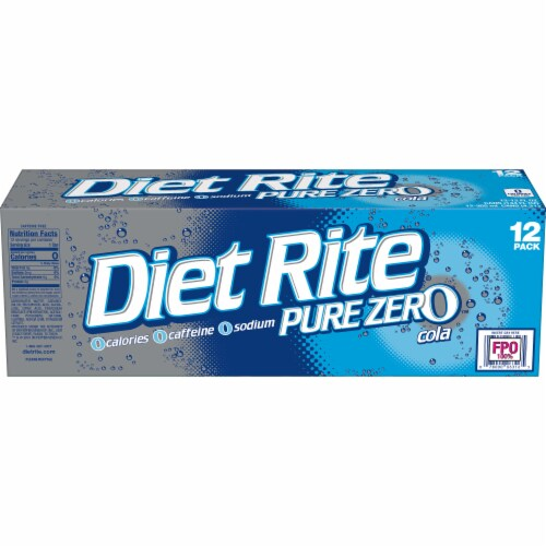 Diet Rite Cola Perspective: left