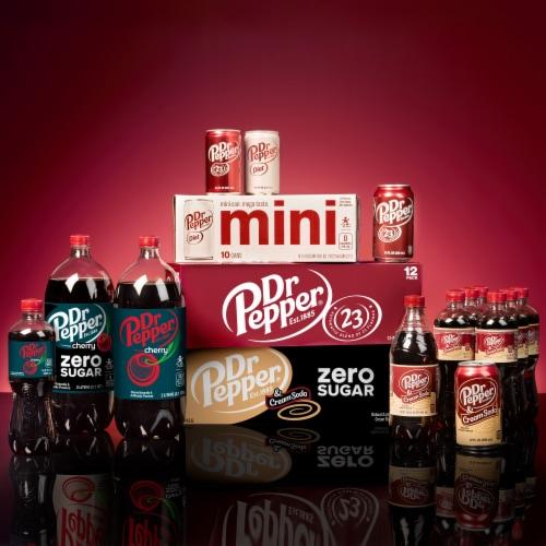 Dr Pepper Soda Perspective: left