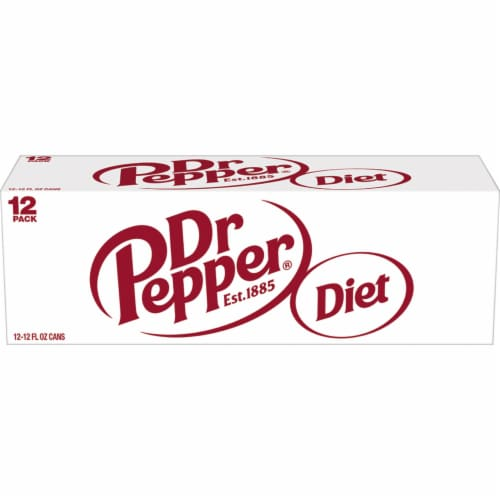 Diet Dr Pepper Soda Perspective: left
