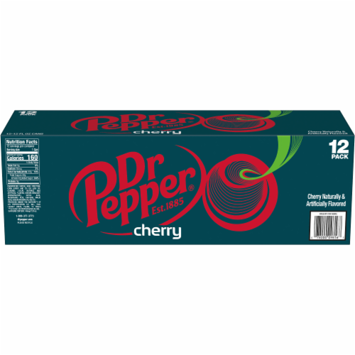 Dr Pepper Cherry Soda Perspective: left