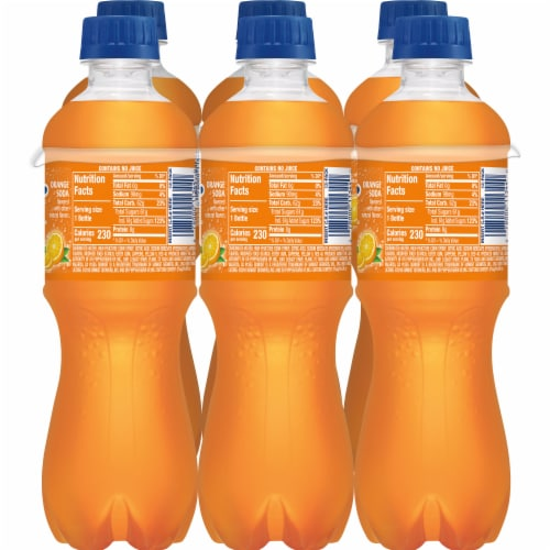 Sunkist Orange Soda Perspective: left