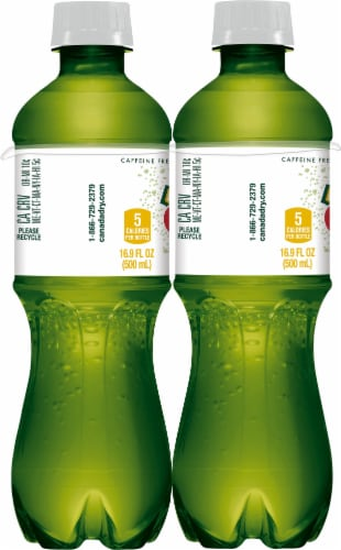 Canada Dry Zero Sugar Ginger Ale Perspective: left