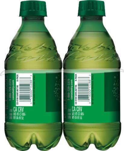 Canada Dry Ginger Ale Soda 8 Bottles Perspective: left