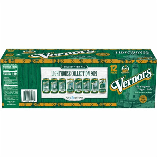 Vernors Ginger Soda Perspective: left