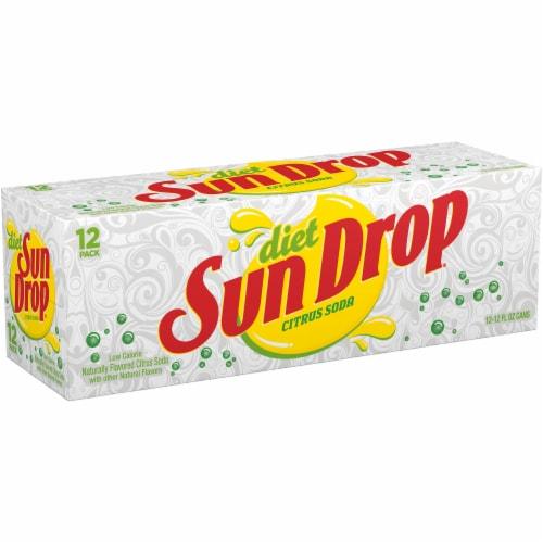 Sun Drop Diet Citrus Soda Perspective: left