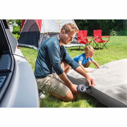 Intex 12 Volt Quick-Fill DC Car Electric 23 CFM Inflatable Float & Air Bed Pump Perspective: left