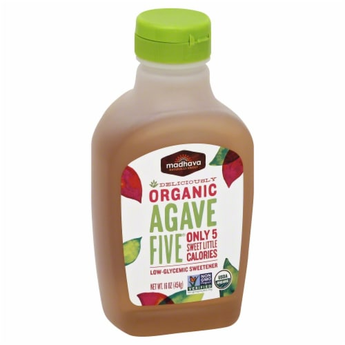 Madhava Organic Agave Five Perspective: left