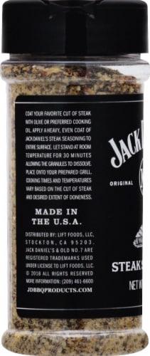 Jack Daniel's BBQ Steak Seasoning Perspective: left