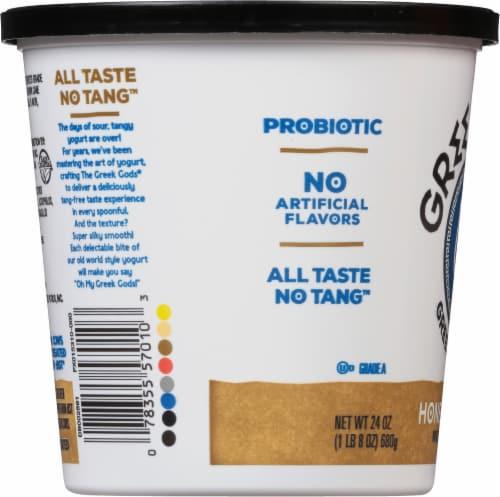 The Greek Gods Honey Vanilla Greek Style Yogurt Perspective: left