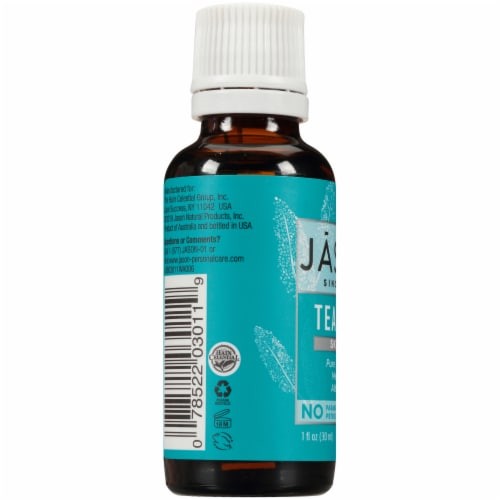 Jason Tea Tree Skin Oil Perspective: left